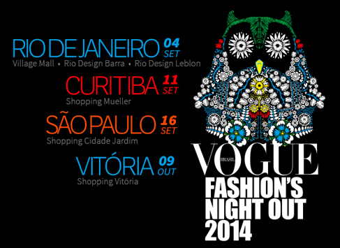 Vogue Fashions night out 2014