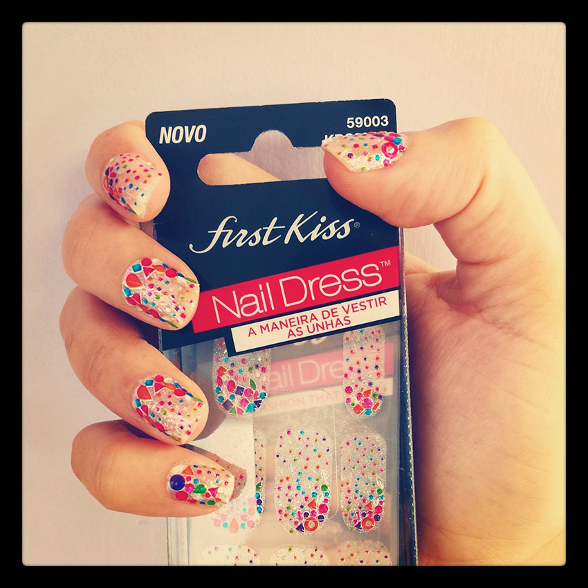 Nail Dress Kiss New York