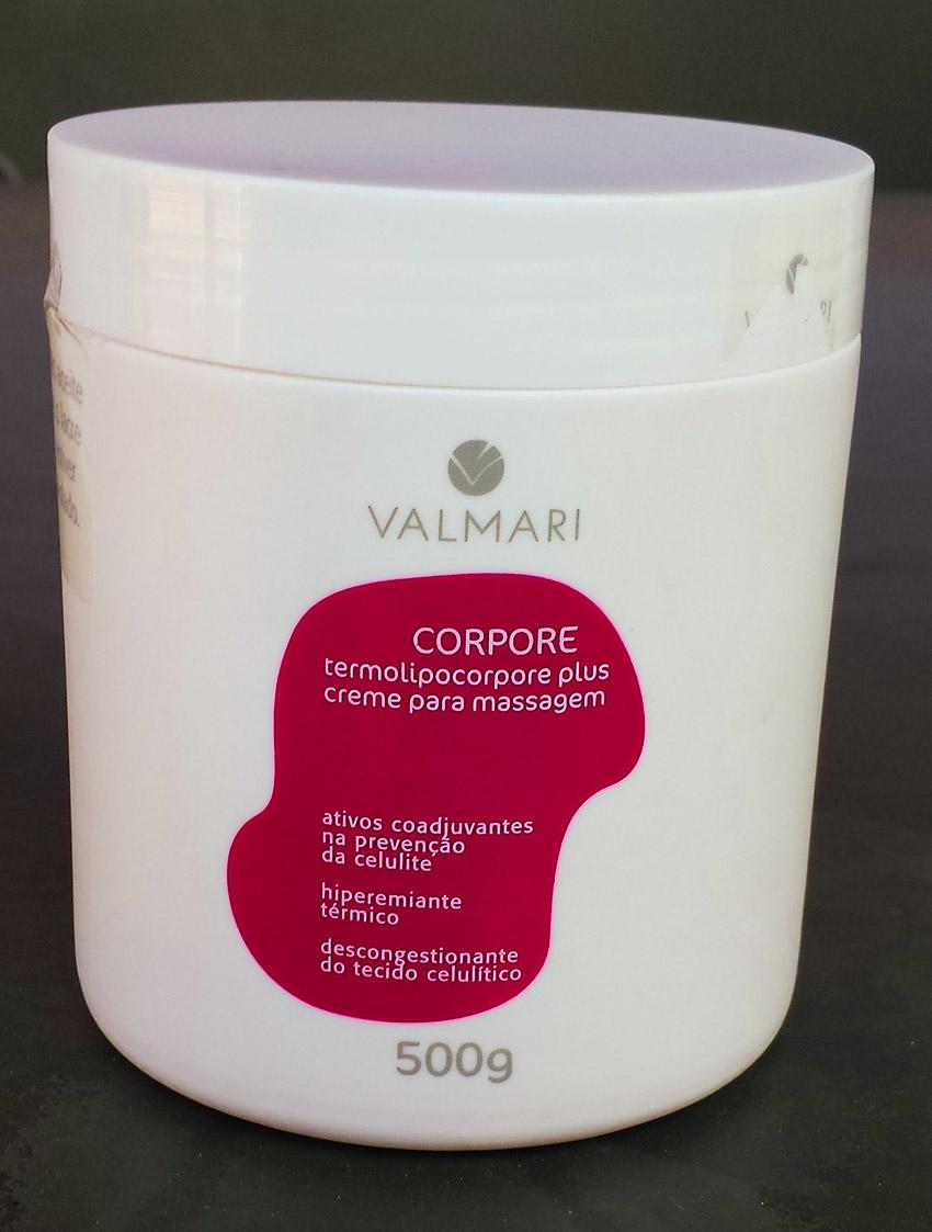 Termolipocorpore Plus  creme de massagem valmari