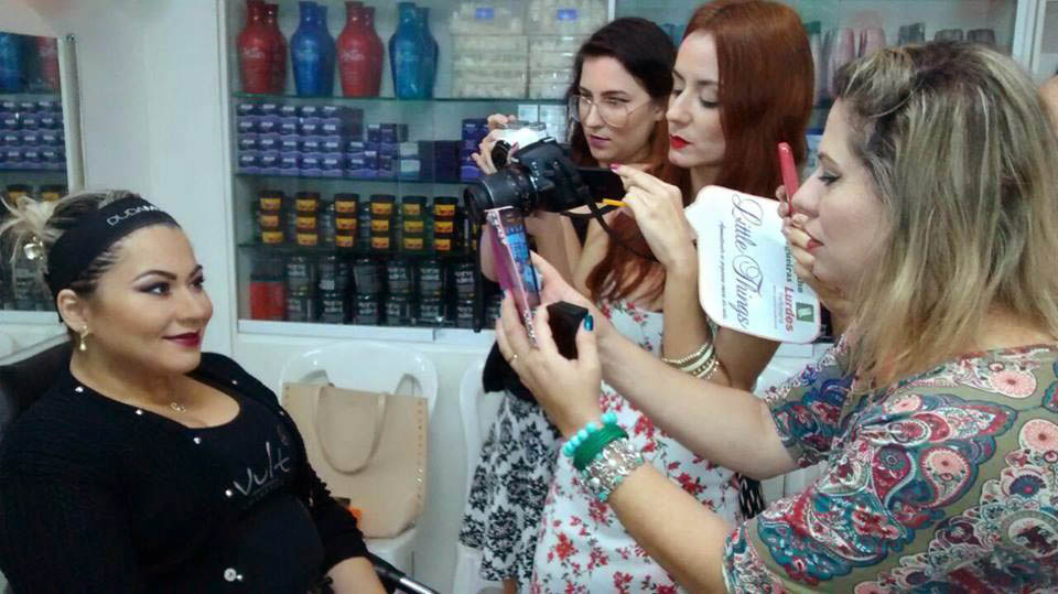 Encontrinho de Blogueiras Lurdes Perfumaria e Vult